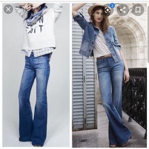 NWT Madewell Flea Market Flare Jeans